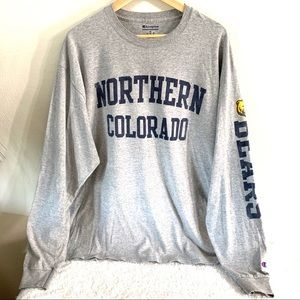 UNC Northern Colorado men's tee size XL